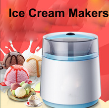 home ice cream machine double layer heat preservation and refrigeration For Gift DIY   Children 200w