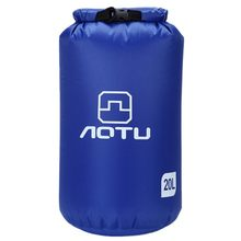 Aotu Portable 20L Waterproof Bag Storage Dry Bag for Canoe Kayak Rafting Sports Outdoor Camping Equipment Travel Kit(China)