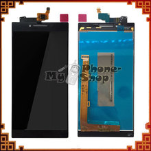 10pcs/lot China Supplier for Lenovo P70 LCD with Touch Screen Assembly black free shipping by DHL EMS(China)