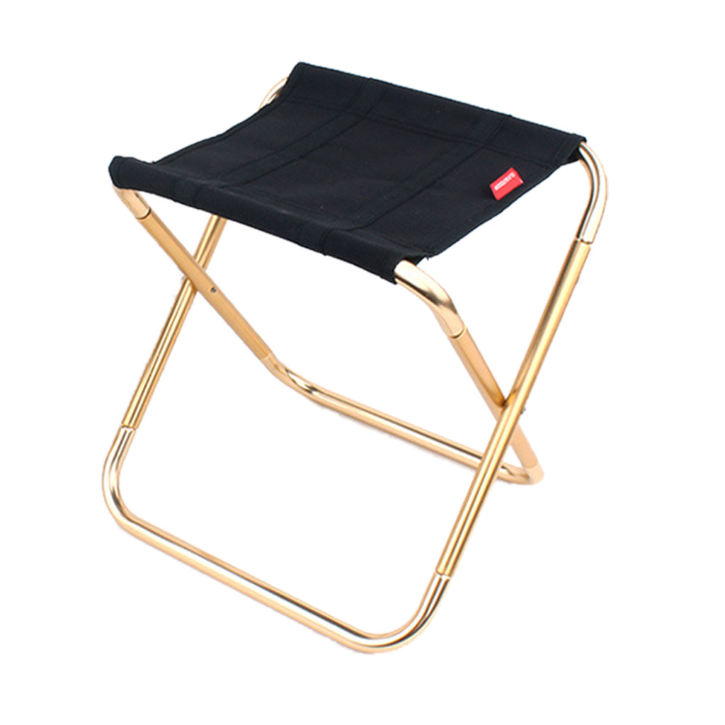 Portable Folding Chair Outdoor Camping Fishing Picnic Beach BBQ Stools Mini Seat Beach Hiking Picnic Seat Fishing Tools #CL30