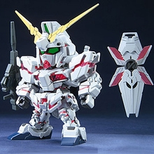 Action Toy Figures 9cm Nick Unicorn Robot SD/BB Gundam Assembled Model Toys Japanese Anime Figures Assembling Brinquedo Gifts(China)