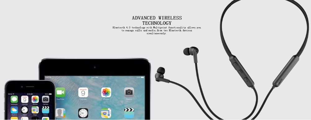 MEE Audio N1 Wireless Sports Handfree Earphones Bluetooth 4.0 In-Ear Magnet Headphone With Mic Bass Stereo Headset For Iphone
