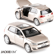 New High Simulation Model Toys 1:32 Volkswagen New Golf Classic Car Alloy Car Model Excellent Christmas Gifts Toys Free Shipping