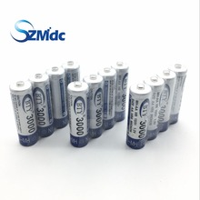 Fast Shipping Best Rechargeable Battery AA 3000 12X BTY NI-MH 1.2V Rechargeable aa battery rechargeable batteries AA3000