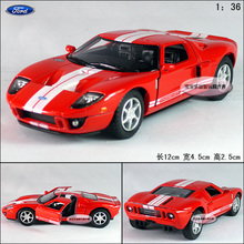 Candice guo! Hot sale Super cool 1:36 mini 2006 Ford GT alloy model car toy children adult birthday gift 1pc