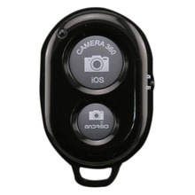 Universal Bluetooth Self-timer Colorful Mini Smart Shutter Release Camera Remote Controller for iPhone 5s 5c 6 Samsun(China)