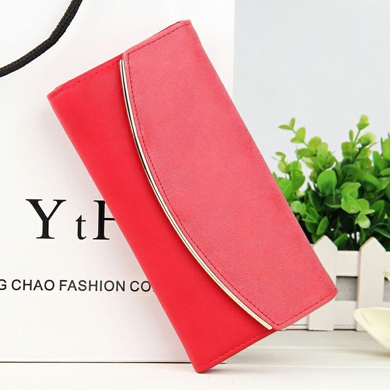 High Quality nubuck leather Wallets for Woman,ladys long Purse Fashion  intellectuality Clutch bag Purse card holder Coin Purse<br><br>Aliexpress