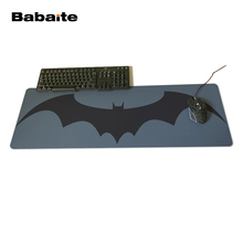 Babaite Hot Batman Arkham Custom Made Durable Gaming Anti-slip Silicone Mouse Pad One piece oft Rubber Anti-slip Mice Play Mats