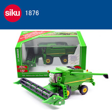 New SIKU 1:87 1876 Combine Harvester Moissonneuse Car Model Toy For Kids Gifts Free Shipping