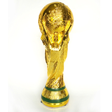 2014 Resin Football World Cup Trophy 36cm Model 1:1 Full Size Golden Champions Trophies and Award Cups Soccer Fans Souvenirs