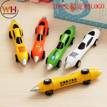 100pcs/lot,free logo, Advertising pen customized, logo printable two-dimensional code, creative stationery, car modeling, ball p