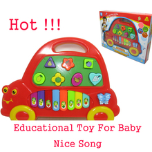 Baby Educational Musical Instruments Pandeiro Baby Toys 1 Year Children Piano Baby