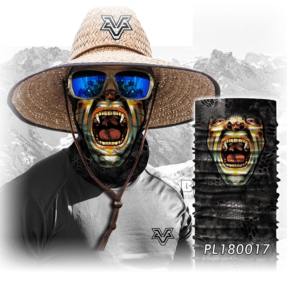 Wholesale Skull Scarves 3D Human Face Magic Bandana Sports Outdoors Headband Balacalava Skull Bandana Drop Shipping (5)