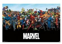 2014 New Marvel Comics Retro Classic Vintage Movie Poster and print for wall 50x75cm Free Shipping Canvas Print KO/384777