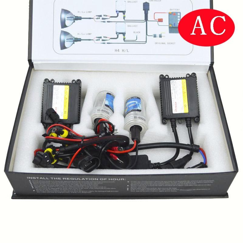 auto headlamp hid xenon kit slim ballast for car headlight 12V 35W AC h1 h3 D2S 9012 5012 H27 hb3 hb4 hid conversion kit<br>