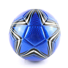 New 2017 Official Size 5 Blue Star Pattern Football Ball PVC Granule Slip-resistant Football Seemless Match Training Soccer Ball