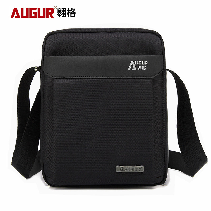 Black Coffee Formal Waterproof Oxford Business Single Shoulder Bag Briefcase Men File Data Satchel for IPAD Stationery Notepad<br>