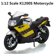 1:12 high simulation alloy motorcycle model, metal casting, sliding toys, high-grade ornaments, free shipping