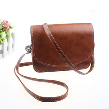 Women Imitation leather Shoulder Bag Satchel Handbag Retro Messenger women crossbody satchels shoulder messenger bags