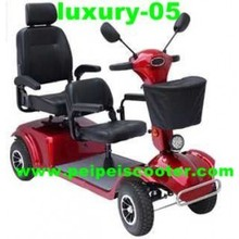 12 inch 24v 800w best quality 2 seat luxury mobility scooter (luxury-05)