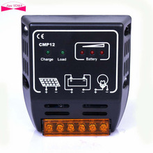 Solar Controllers 10A 12V/24V intelligence Solar cells Panel Battery Charge Controller Regulator CE Certify Hot Sale(China)