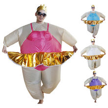 ballerina Inflatable Costume Adult Bule/white/purple/red colors Suit Party Halloween carnival  sc 1 st  AliExpress.com & Ballerina Adult Costume Promotion-Shop for Promotional Ballerina ...