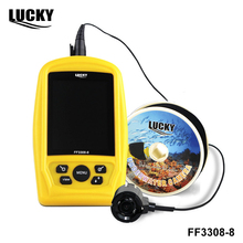 LUCKY FF3308-8 Portable Underwater Fishing & Inspection Camera System CMD sensor 3.5 inch TFT RGB Monitor Fish Sea 20M Cable(China)