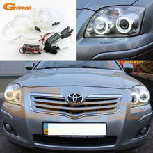 For Toyota Avensis T25 2006 2007 2008 2009 Excellent Ultra bright illumination CCFL Angel Eyes kit Halo Ring
