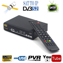 SCART TV DVB-S2 Satellite Receiver IPTV SAT To IP Internet Combo Support HD AC3 Ethernet 3G Wifi vu KEY IKS Cccam Newcad decoder(China)