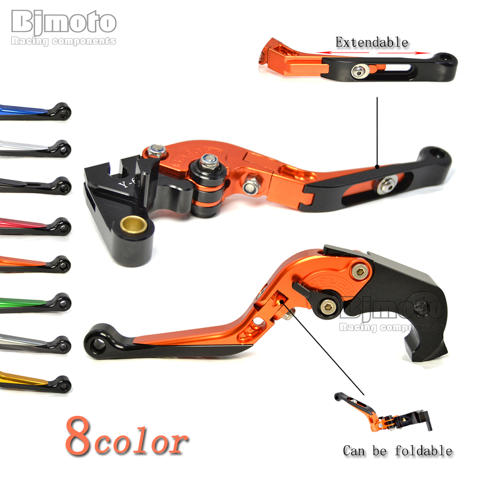 Orange Motorcycle Adjustable CNC Brakes Clutch Levers Set Motorbike brake For KTM 1190 Adventure/R Super Adventure 1290 S/T/R<br>