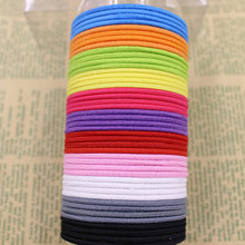 Aikelina 50pcs/bag 4.5CM Hair Holder Rubber Bands Hair Elastic side hair bands Accessories Women For Girl Charm Tie Gum Headwear(China)