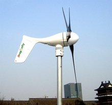 CE,Russia,RoHS approved Grid tie Dragonfly 550W wind turbine+grid tie 500W inverter !(China)