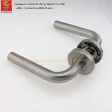 stainless steel  304 gate handles, lever type door handle,mortise lock of lever handle
