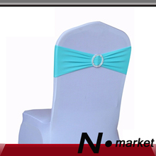 Tiffany Color  Lycra Plain Chair Cover Hood For Wedding Spandex Polyester Cover Hoop  Decoration Banquet