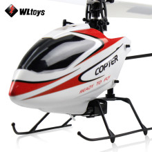 Original WLtoys V911 RC Helicopter 2.4G 4CH Drone Toys Remote Control Drones Flying Toy Helicopter Aircraft Kid Drone Best Gifts(China)