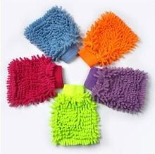 Snow Neil fiber coral Car wash mitt gloves towel Mop cleaning car window washer(China)