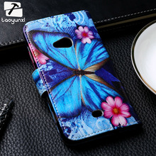 TAOYUNXI Painted Leather Covers Cases For Nokia Lumia 625 625H N625 650 N650 640XL 640 XL N640XL 610 N610 Flip Case Cover Bag