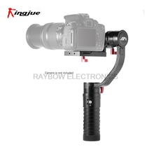 Buy Kingjue VS-3SD Brushless handheld 3-axis gimbal gyro stabilizer Nikon Canon Sony camcorder DSLR Mirrorless cameras for $499.00 in AliExpress store