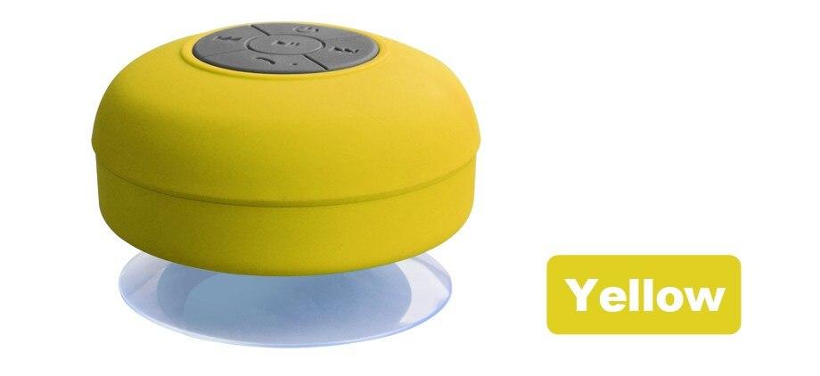 LONGET Bluetooth Speaker Portable Mini Wireless Waterproof Shower Speakers for Phone MP3 Bluetooth Receiver Car Speaker