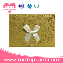 High quality exported decoration wedding invitation card Decoration Wedding Invitation Cards(China)