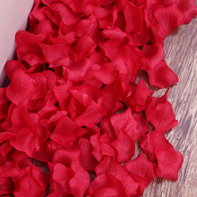 APRICOT Cheap Rose Petals Wedding Accessories 100 pcs / lot Petalas Artificiais Rose Petals Flowers Wedding Decoration