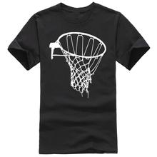 T Shirt Casual Gildan Basketballer Basket Net Pattern Design Short Sleeve Men Fashion 2017 Crew Neck Tee Shirts