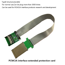 PCMCIA / PC Card CI card TV test extension card protection card with 50cm cable(China)