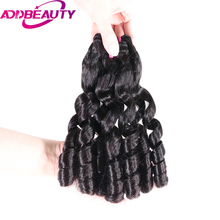 AddBeauty Loose Wave India virgin Hair Young girl Human Hair Weave 1 Bundles longest Hair PCT(PP) 60% For Salon(China)
