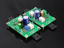 One Pair Assembeld PASS 5W Single-ended Class A FET + MOS Amplifier Board 5W + 5W(China)