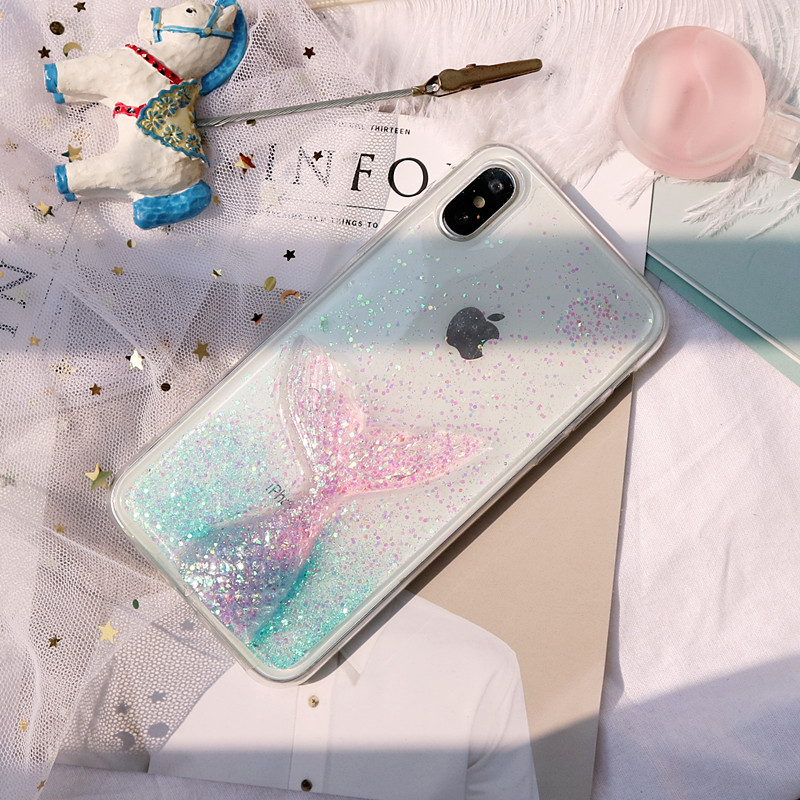 Dreamy Mermaid Glittering Phone Case