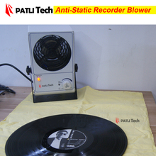 Anti static ion eliminate air blower fan for dry vinyl lp recorder, CD / VCD / turntable record player accessories(China)