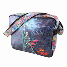 COMICS MARVEL Handbags Thor/Superman/flash/Simpson/Captain America/Star Wars PU Leather Unisex Shoulder Bags Messenger Bag