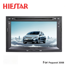 Car GPS Player Radio Automotive Navigator Steering Wheel Control DVD Player Bluetooth Touch Screen MP5 For Pegueot 3008