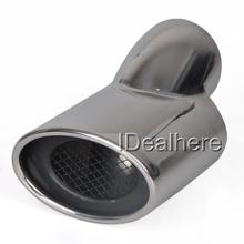 Universal Pipe Car Auto Exhaust Tips Extension Tail Stainless Steel Car Accessories Exhaust Systems HLS-93031(China)